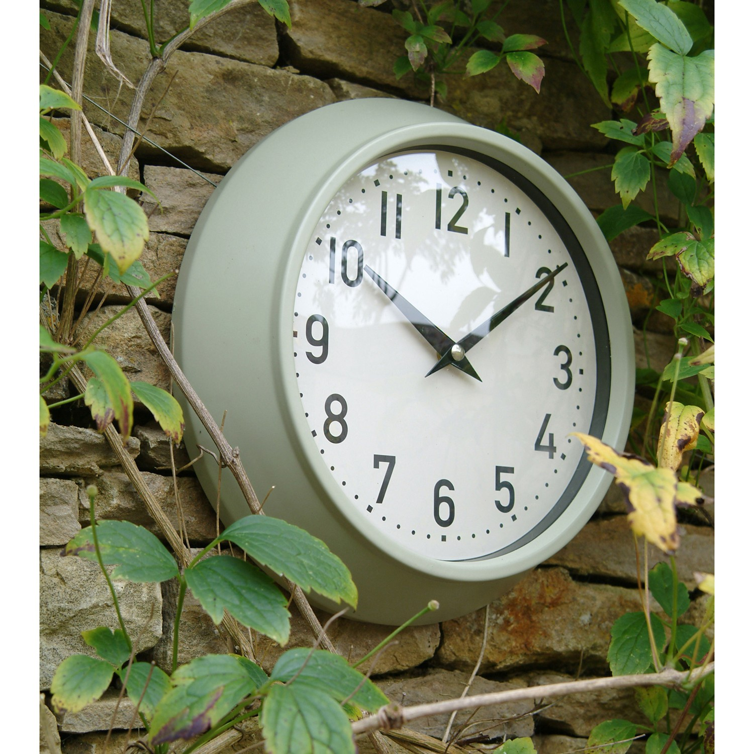 outdoor garden clock view larger SMRIAHJ