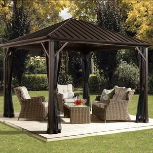 outdoor gazebo dakota 10 ft. w x 10 ft. d aluminum patio gazebo PUNUROY