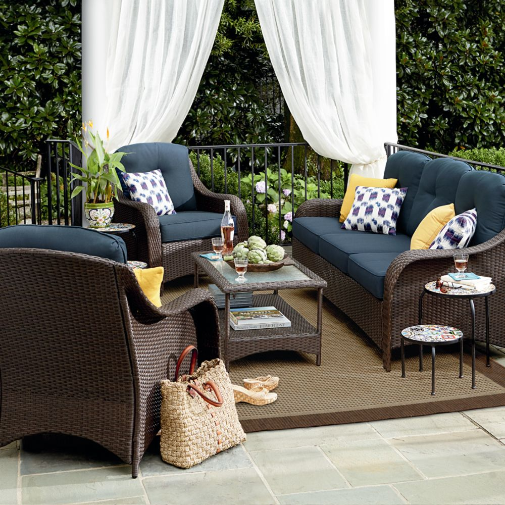 outdoor living furniture 5 things you need to create ... UGCFLZB
