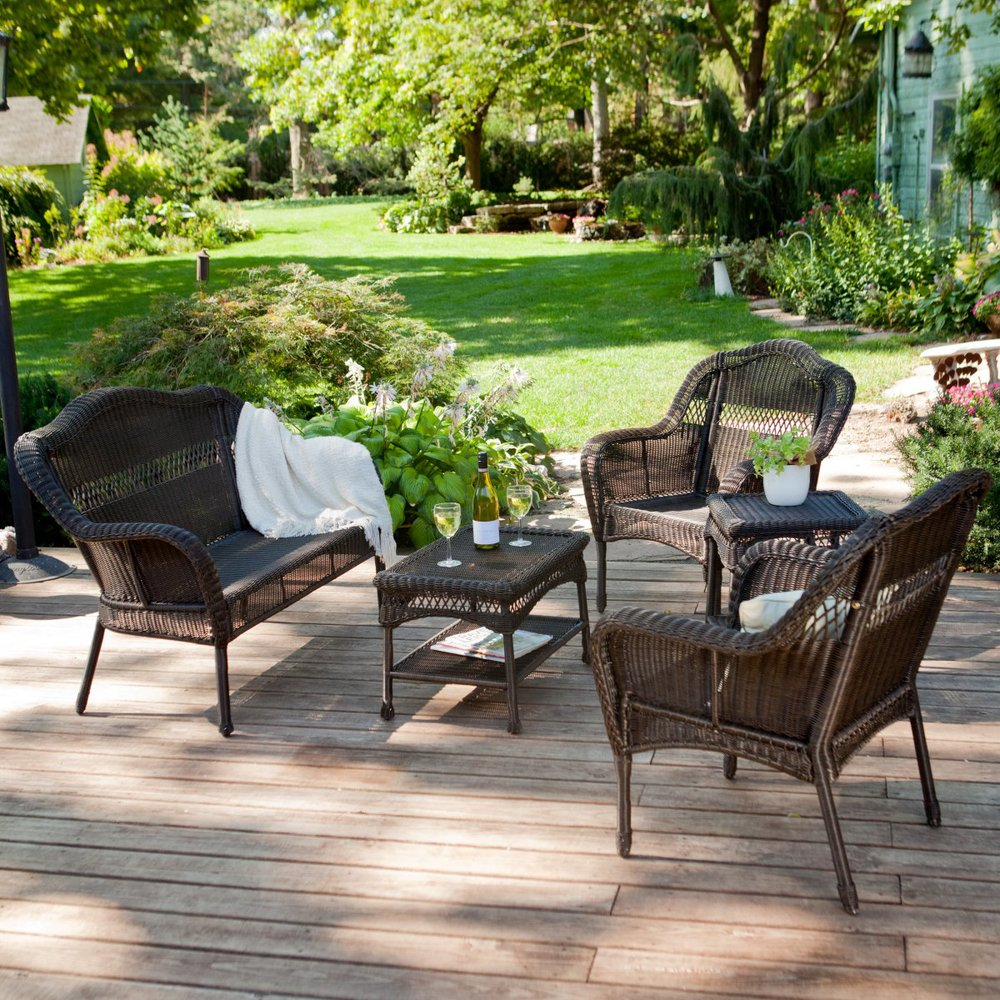 outdoor patio furniture sets outdoor patio furniture resin wicker conversation set-in garden sofas from  furniture VQUZYMA