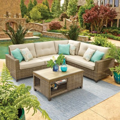 outdoor patio sets outdoor furniture sets for the patio - samu0027s club UOWVTCW