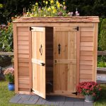outdoor storage shed LVRUZJK