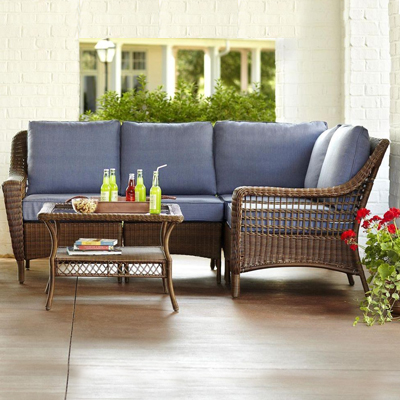 outdoor wicker furniture wicker patio furniture. wicker outdoor patio furniture ESJCBSW