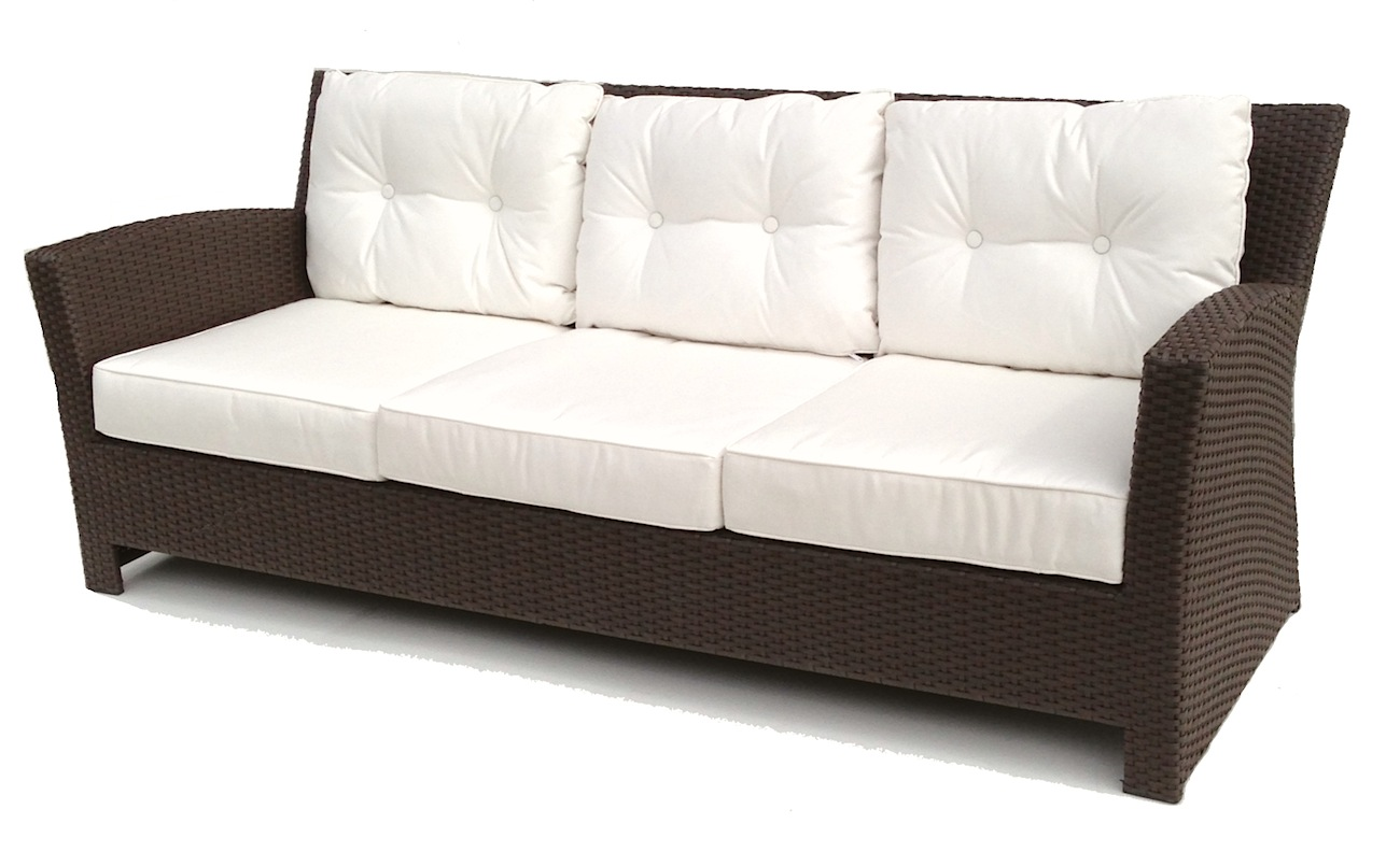 Outdoor Wicker Sofa Sonoma Ykhtpgt
