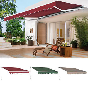 patio canopy image is loading patio-awning-canopy-retractable-deck-door-outdoor-sun- MAEPKPT