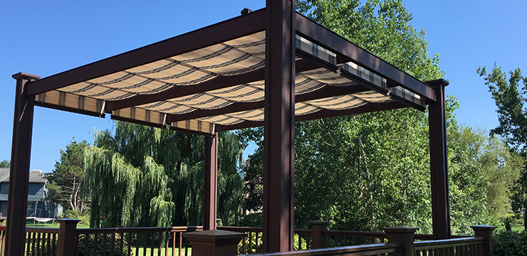 patio canopy retractable deck u0026 patio canopies POZNREU