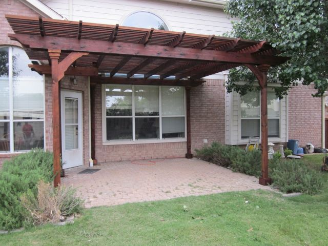 patio cover designs stained cedar lattice patio cover 01 GUPEGLD