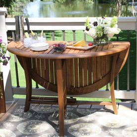 patio dining table display product reviews for 48-in w x 48-in l round folding dining HXEXJPL
