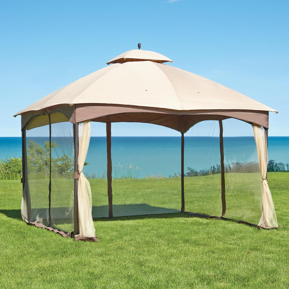 patio gazebo double roof gazebo WQVFUPJ