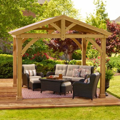 patio gazebo gazebos u0026 pergola kits - samu0027s club YNXRSQO
