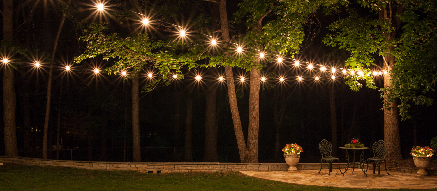 patio lighting how to hang patio lights - popular outdoor lighting ideas WQDOTHE