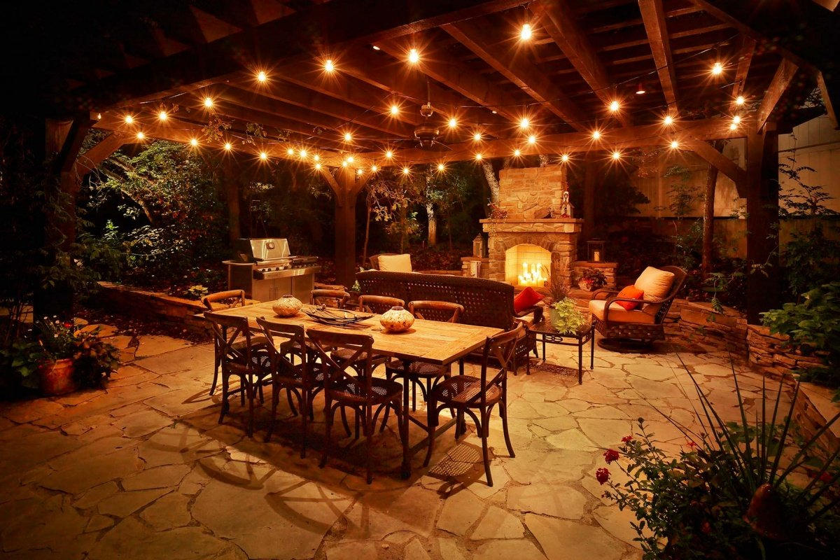 patio lighting ideas IDLMOGF