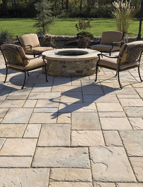 patio pavers stone patio ideas WTVYTNJ