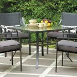 patio sets amazon.com: gramercy home 5 piece patio