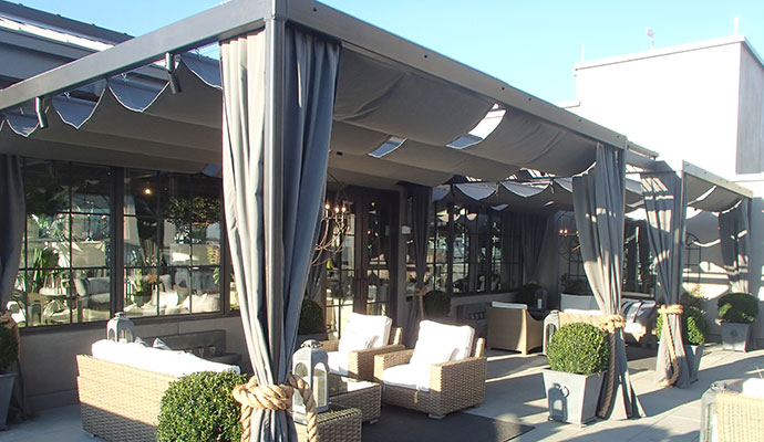 pergola covers our custom retractable pergola creates a luxury feel. HNNNHCP