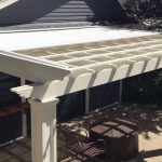 Care and maintenance of the pergola covers