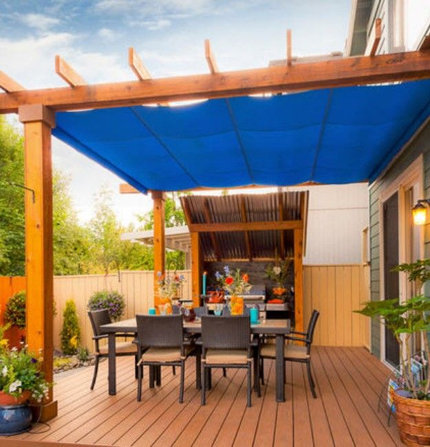pergola covers there are a plenty of pergola rain cover ideas, built with different NMWQHHZ