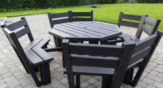 plastic garden furniture with recycled plastic garden furniture maintenance  free plastic DBNOYDA