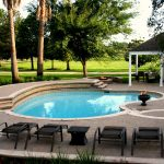 pool designs custom pool, pool design lightfoot landscapes,
