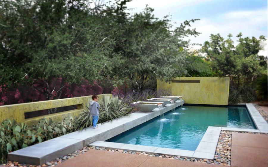 pool designs geometric pool design swimming pool bianchi design scottsdale, az YFEVBNW