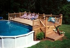 popular above ground pool deck ideas. this is just for you who GOYUJTA