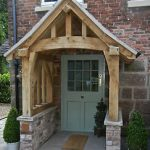 porch canopy image is loading oak-porch-doorway-wooden-porch-canopy-entrance-self- WZNPDIW