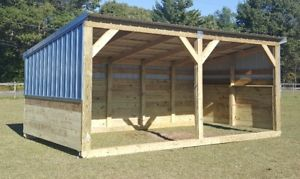 portable shed image is loading heavy-duty-portable-horse-barn-livestock-shelter-goat- TCBUSLU