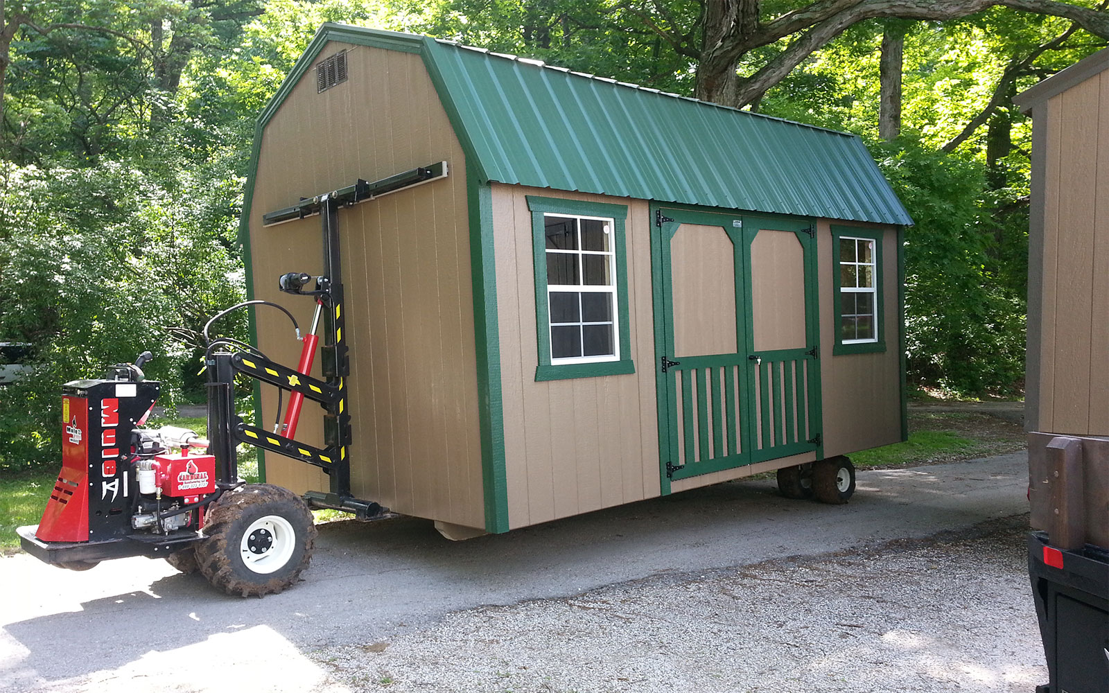 portable shed ... space to explore within the shed for its compact nature. youu0027ll GTIGXZJ