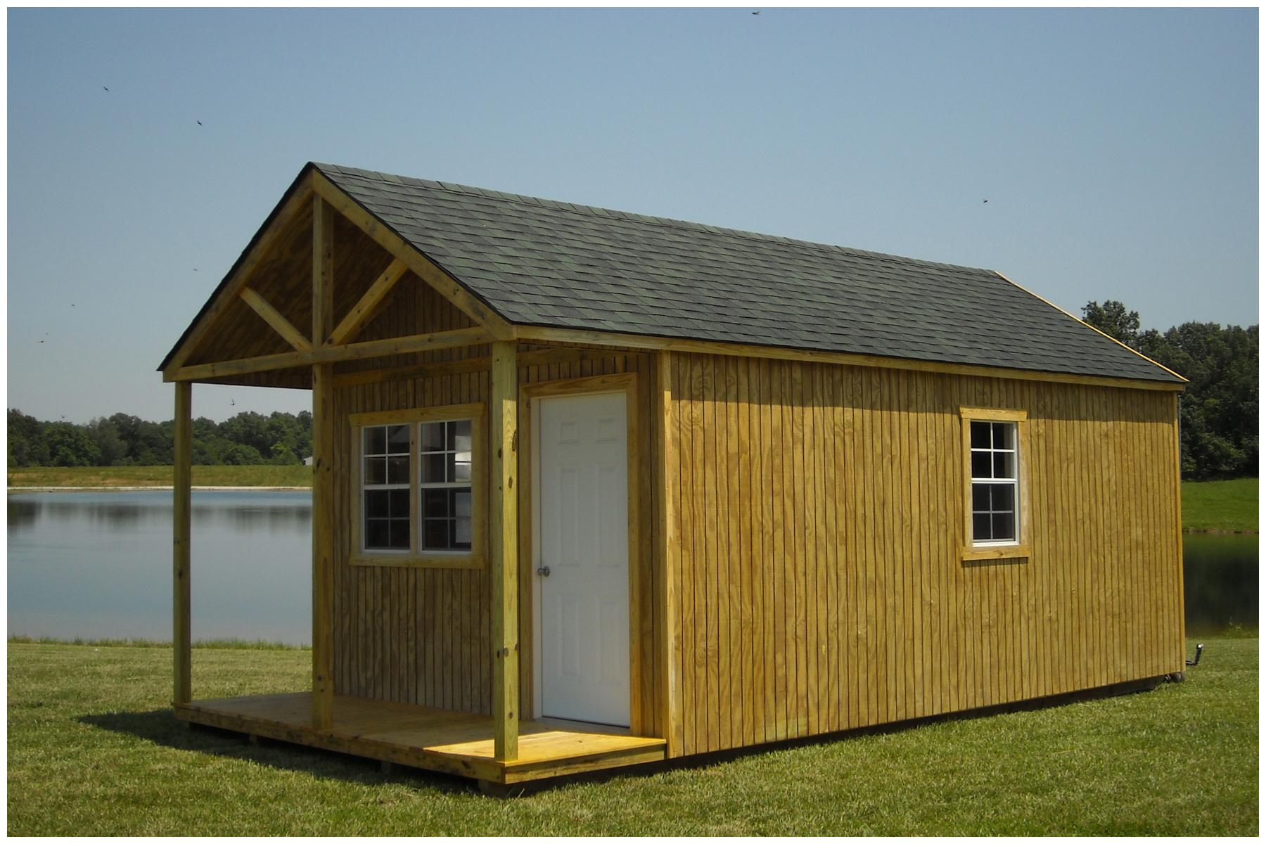 portable shed wood buildings SRVVWYG