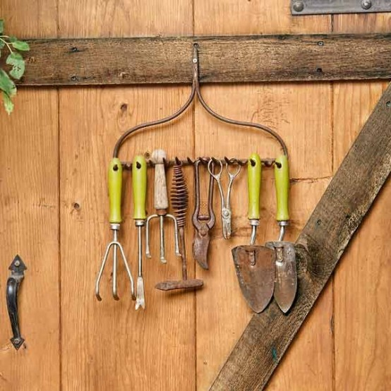 practical garden shed storage ideas LYJKWTV