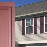 raised panel exterior vinyl shutters by window world