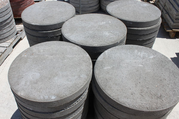 round stepping stones for sale concrete stepping stones san antonio round BFEYOFB