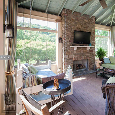 Why to go for nice designs of screened in porch structures