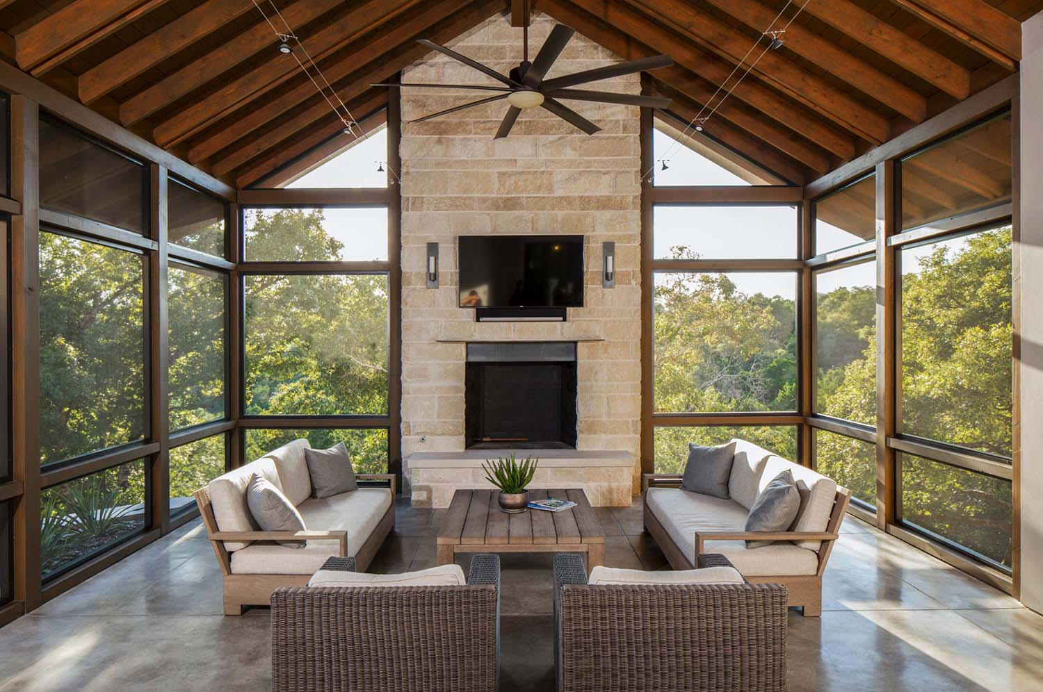 screened in porch ideas screened porch design ideas-12-1 kindesign SGDOFLN