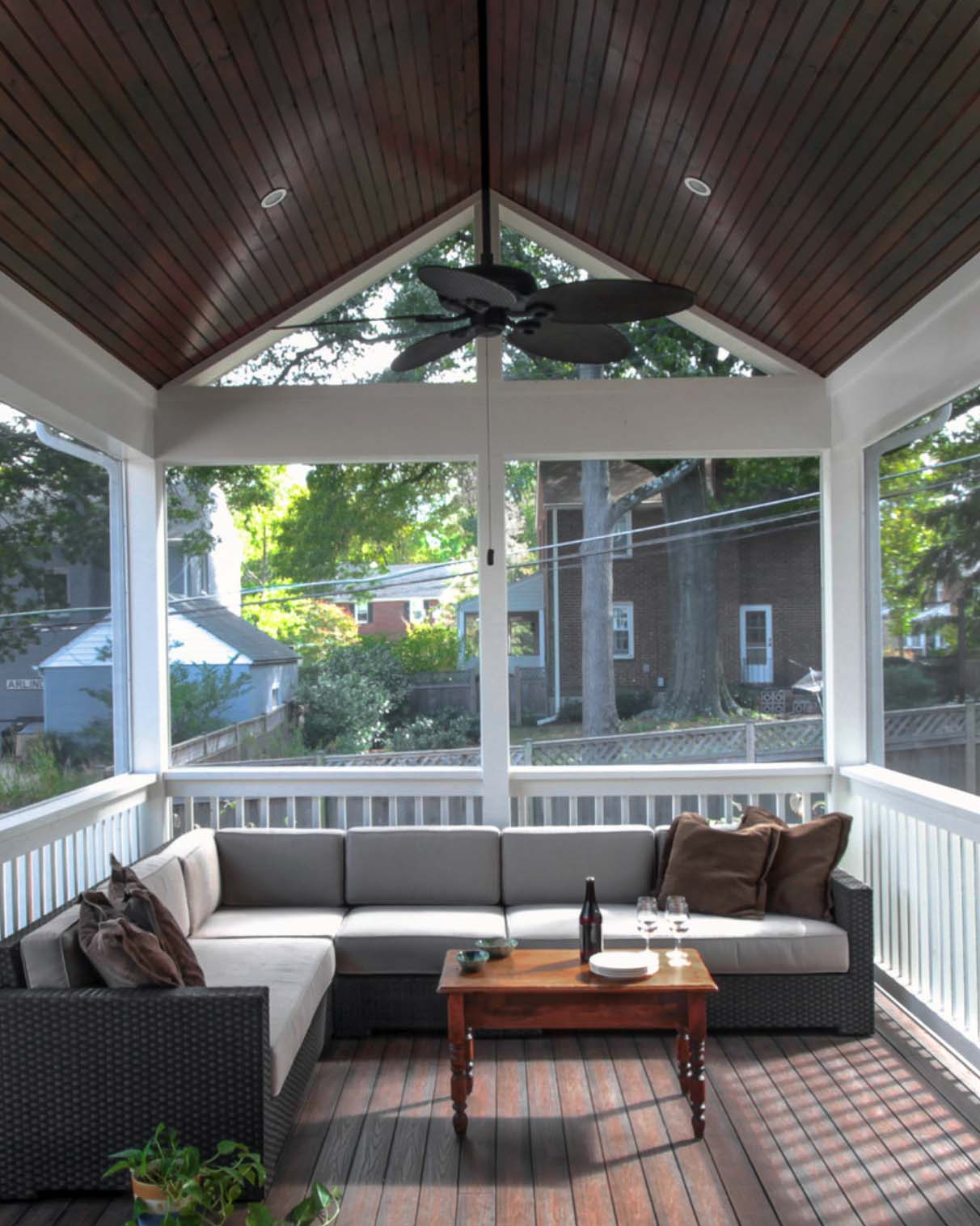 screened in porch ideas screened porch design ideas-24-1 kindesign DKKZYFM