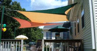 shade sails over patio shade sails over deck