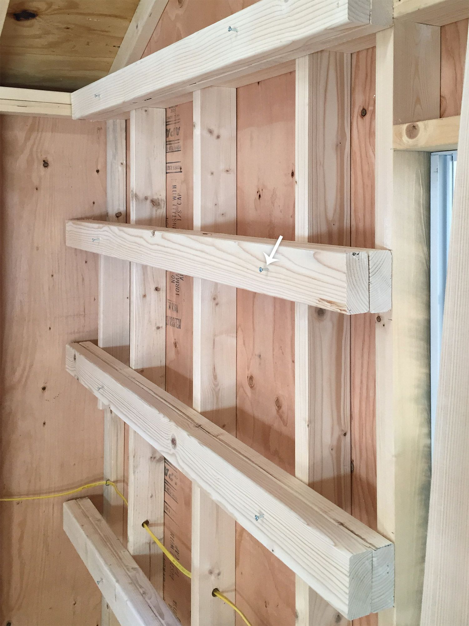shed storage ideas ana white garage shelves XQYMCVJ