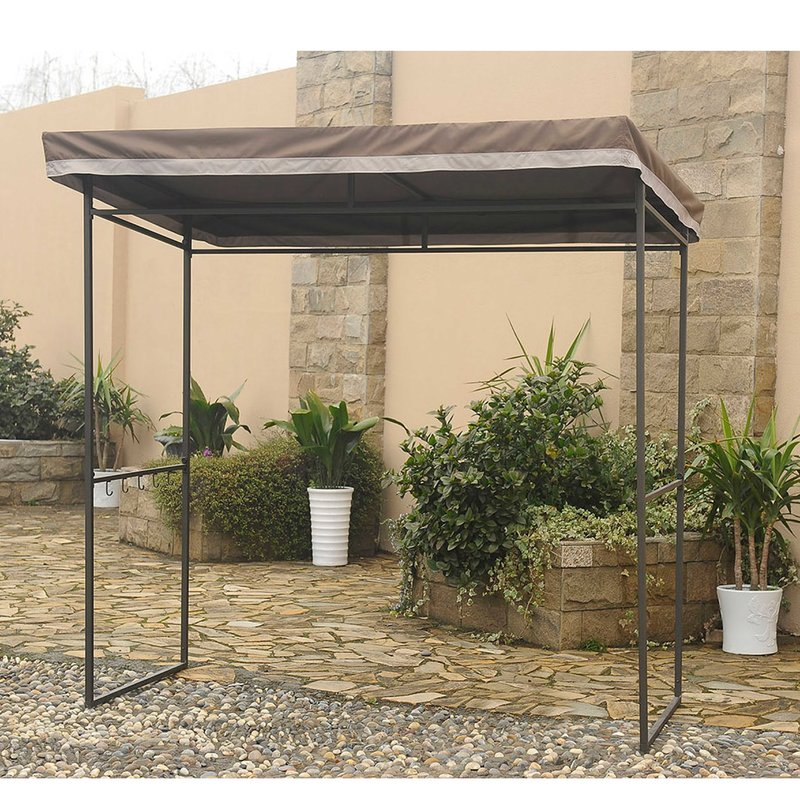 small gazebo replacement canopy for small grill gazebo