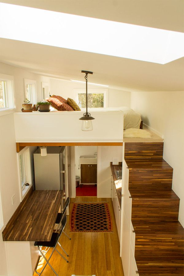 small house interior design hikari box tiny house interior from guest loft from shelter wise and QOUCRTW