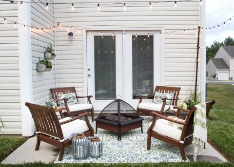 small patio ideas how to decorate a small patio | blesserhouse.com - utilize a small YSBVTXX