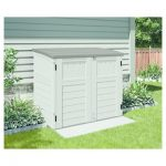 small shed small horizontal storage shed - vanilla