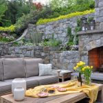 small yard ideas gray seating set MMLFULP