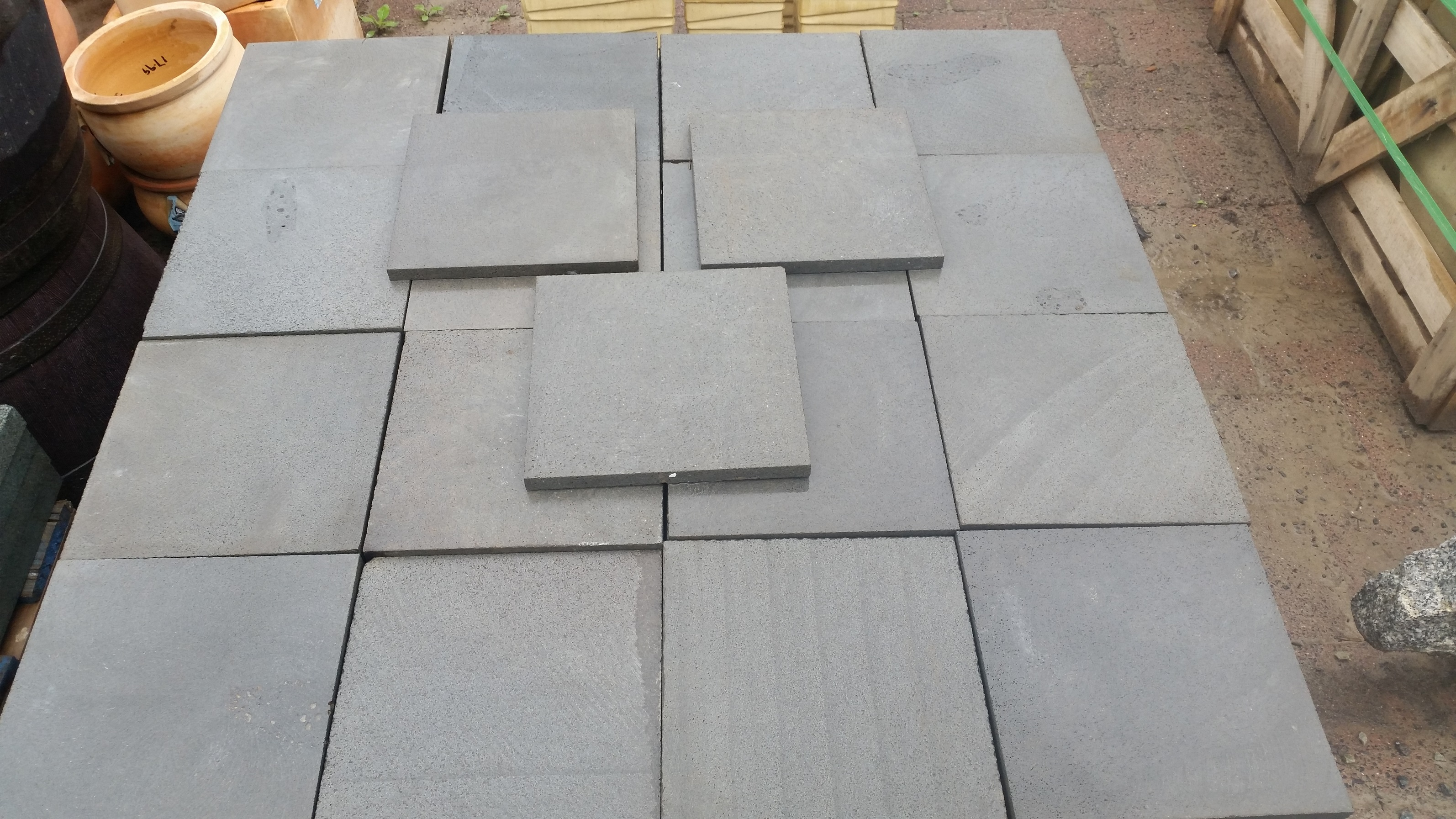 square bluestone pavers ZLRMCFQ