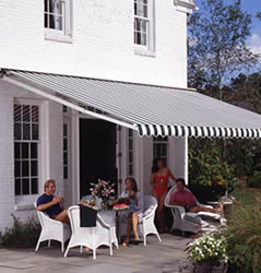 sunflexx retractable awnings - fabric retractable awnings by