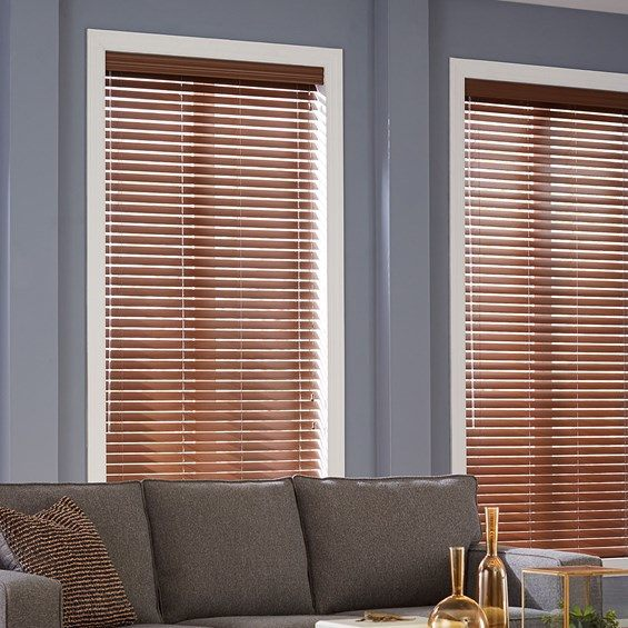 venetian blinds faux wood QHZOCVG