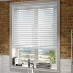 white venetian blinds high gloss pure white faux