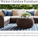 wicker furniture LQMOUTI