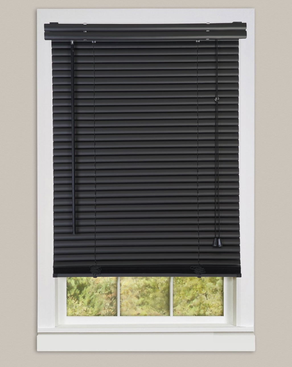 window blinds morning star black 1 DDKRPUW