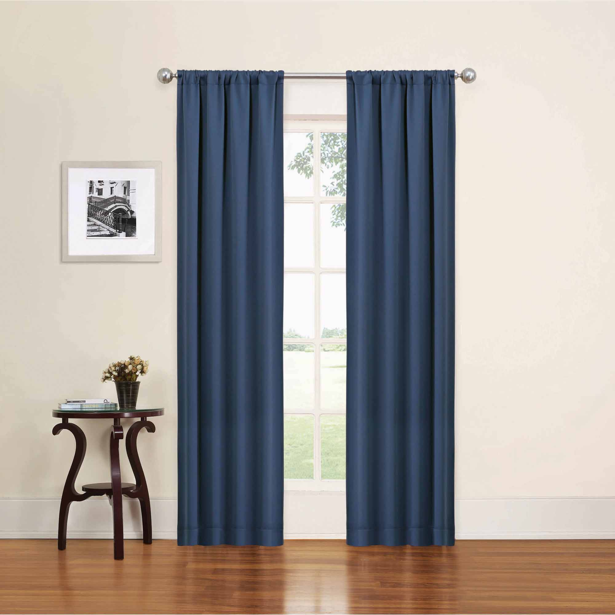 window panels eclipse phoenix blackout window curtain panel pair - walmart.com COWQMBW