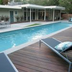 wood pool deck shades of green landscape architecture